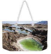 Dead Sea Sinkholes  Weekender Tote Bag by Eyal Bartov