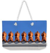 Decorative Roof Tiles In Plaka Weekender Tote Bag