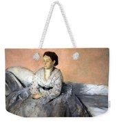 Degas' Madame Rene De Gas Weekender Tote Bag