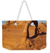 Delicate Arch At Sunset Weekender Tote Bag