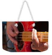 Bass Playing - Denver Weekender Tote Bag