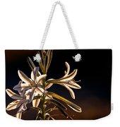 Desert Easter Lily Weekender Tote Bag by Robert Bales