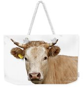 Detail Of Cow Head Weekender Tote Bag