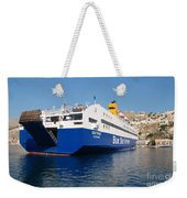 Diagoras Ferry Symi Weekender Tote Bag