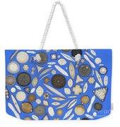 Diatoms Weekender Tote Bag by Kent Wood