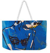 Dinka Painted Lady - South Sudan Weekender Tote Bag
