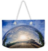Distorted Reflection Weekender Tote Bag
