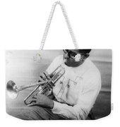 Dizzy Gillespie (1917-1993) Weekender Tote Bag by Granger