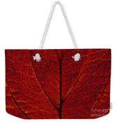 Dogwood Leaf Backlit Weekender Tote Bag