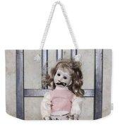 Doll With Tea Cup Weekender Tote Bag