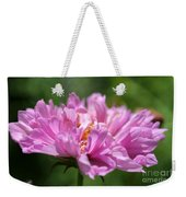 Double Click Cosmos Named Rose Bonbon Weekender Tote Bag
