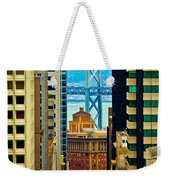 Down To The Bay Weekender Tote Bag