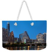 Downtown Austin Skyline Weekender Tote Bag