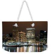 Downtown Baltimore Weekender Tote Bag