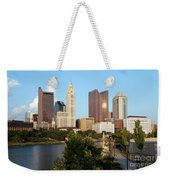 Downtown Skyline Of Columbus Weekender Tote Bag