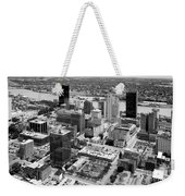 Downtown Skyline Of Toledo Ohio Weekender Tote Bag