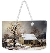 Durrie's Winter In The Country Weekender Tote Bag