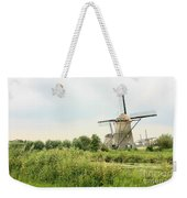Dutch Landscape With Windmills Weekender Tote Bag