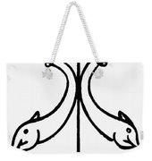 Early Christian Symbol Weekender Tote Bag