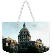 Early Morning At The Texas State Capital Weekender Tote Bag