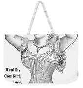 Electric Corset, 1882 Weekender Tote Bag