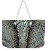 Elephant's Tail Weekender Tote Bag by Mae Wertz