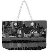 Empire State Building Dressed Up In Pastels Weekender Tote Bag