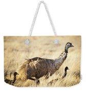 Emu Chicks Weekender Tote Bag by Tim Hester