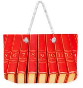 Encyclopedia Weekender Tote Bag