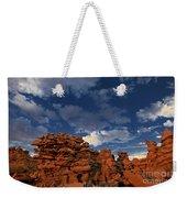 Eroded Sandstone Formations Fantasy Canyon Utah Weekender Tote Bag