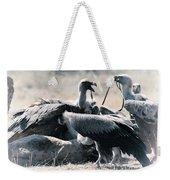 Eurasian Griffon Vulture Gyps Fulvus Weekender Tote Bag