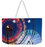 Evergreen State Fair Ferris Wheel Weekender Tote Bag
