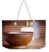 Exotic Bowl And Candles Weekender Tote Bag
