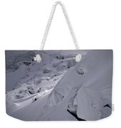 Extreme Skier Going Fast In Beautiful Weekender Tote Bag