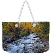 Fall At Big Pine Creek Weekender Tote Bag by Cat Connor