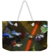 Fancy Guppys Weekender Tote Bag