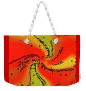 Fantasy In Red Weekender Tote Bag