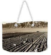 Farm Workers And Mt Williamson 1940s Weekender Tote Bag