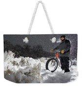 Fat Tire Bike Weekender Tote Bag