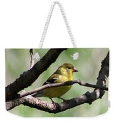 Female American Goldfinch Weekender Tote Bag