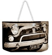 Fiat 500 L Front End Weekender Tote Bag