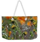 Fiddleneck Flowers Weekender Tote Bag