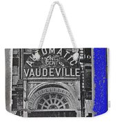 Film Homage Automatic 1 Cent Vaudeville Peep Show Arcade C.1890's New York City Collage 2013 Weekender Tote Bag