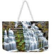 Finger Lakes Waterfall Weekender Tote Bag