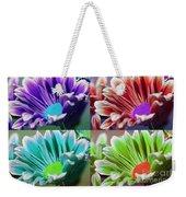 Firmenish Bicolor Pop Art Shades Weekender Tote Bag