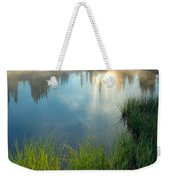 First Light Weekender Tote Bag by Mike  Dawson