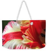 Flaming Parrot Tulip Weekender Tote Bag