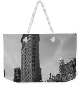 Flatiron Building Manhattan  Weekender Tote Bag