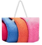 Fleece Weekender Tote Bag