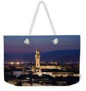 Florence At Sunset Weekender Tote Bag
